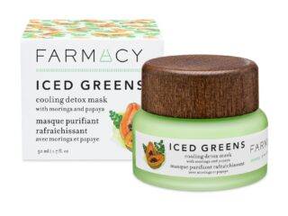 Farmacy Beauty Iced Greens Cooling Detox Mask