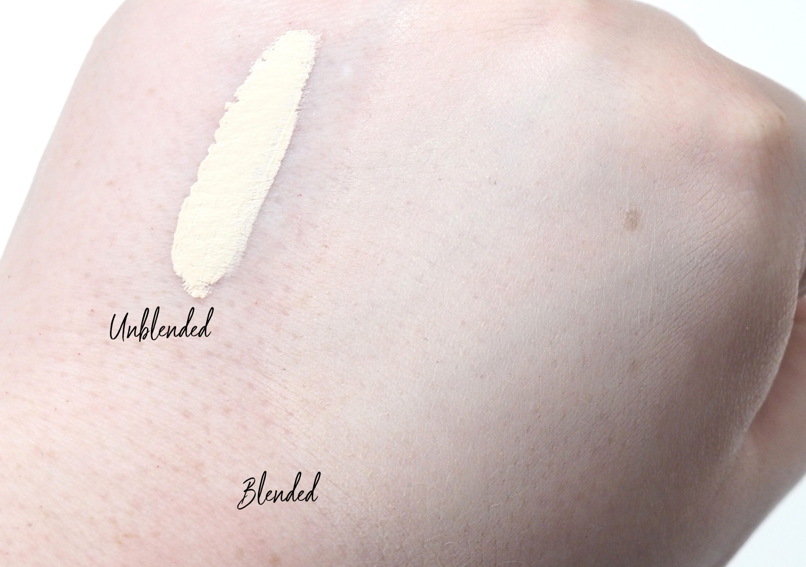 Huda Beauty The Overachiever Concealer Review Swatches