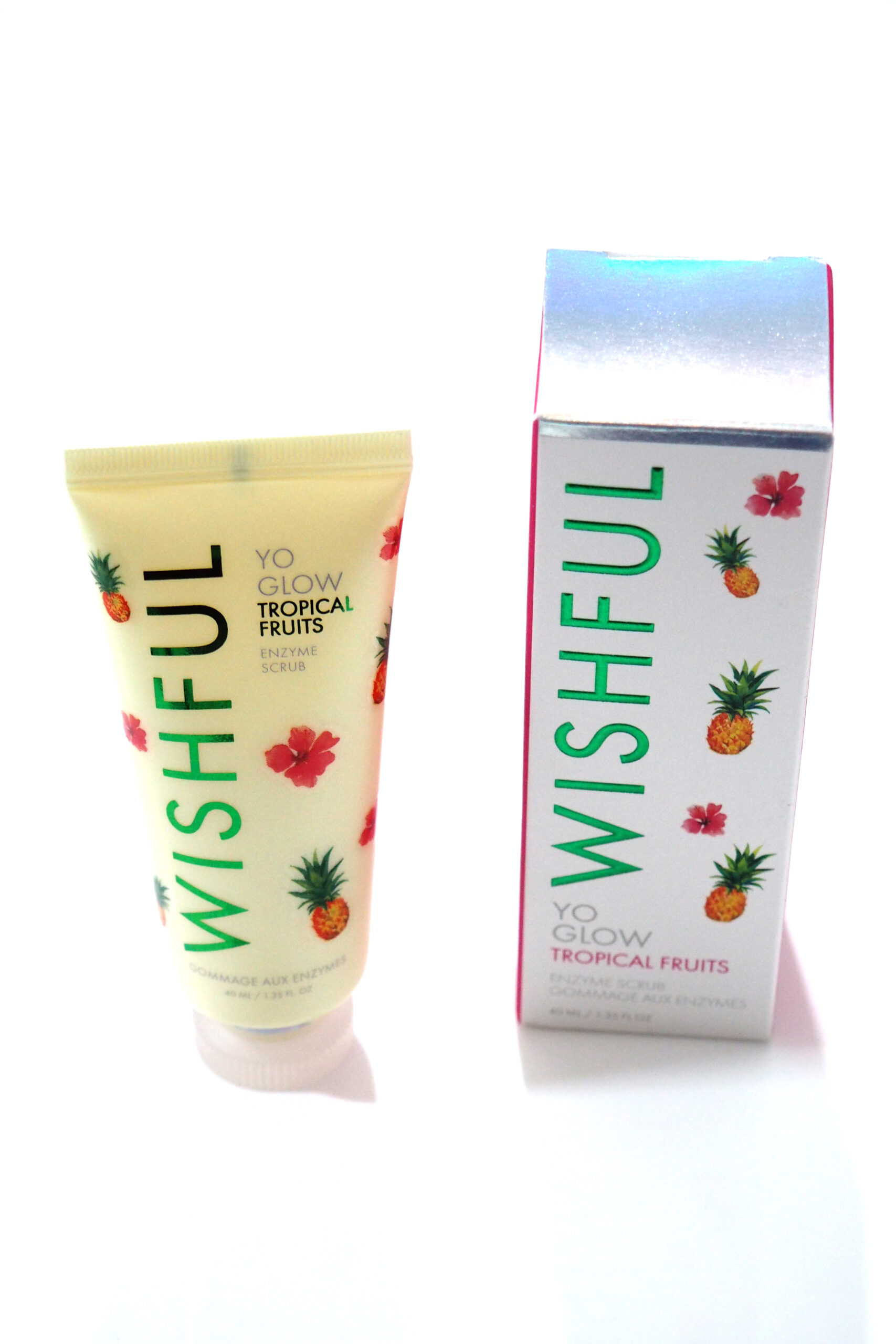 Wishful Yo Glow Tropical Fruits Enzyme Scrub Review