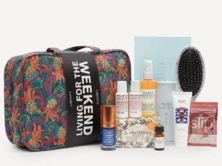 Liberty London Living For The Weekend Beauty Kit