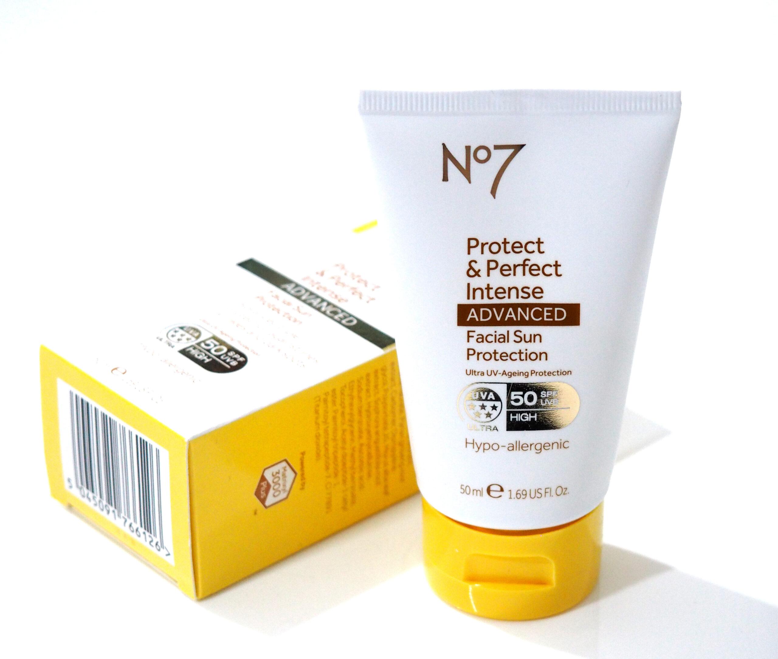 No7 Protect & Perfect Intense Advanced Facial Sun Protection SPF50