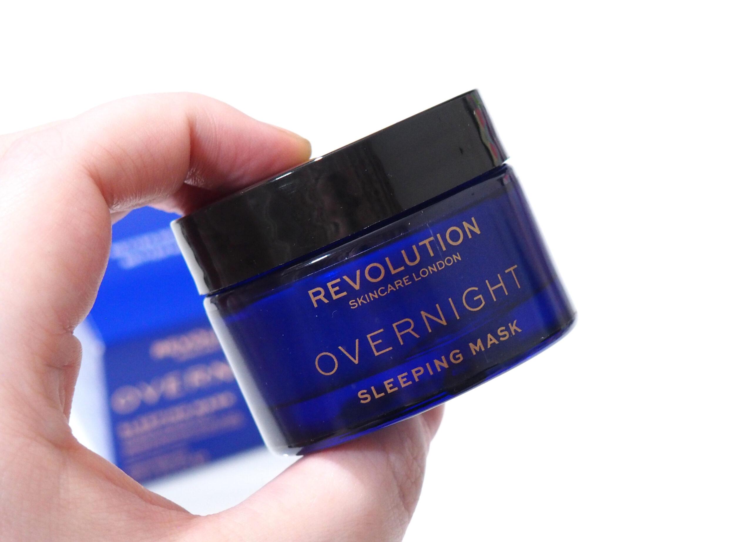 Revolution Skincare Overnight Sleeping Mask Review