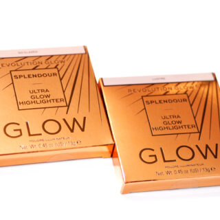 Revolution Splendour Ultra Glow Highlighters Review / Swatches