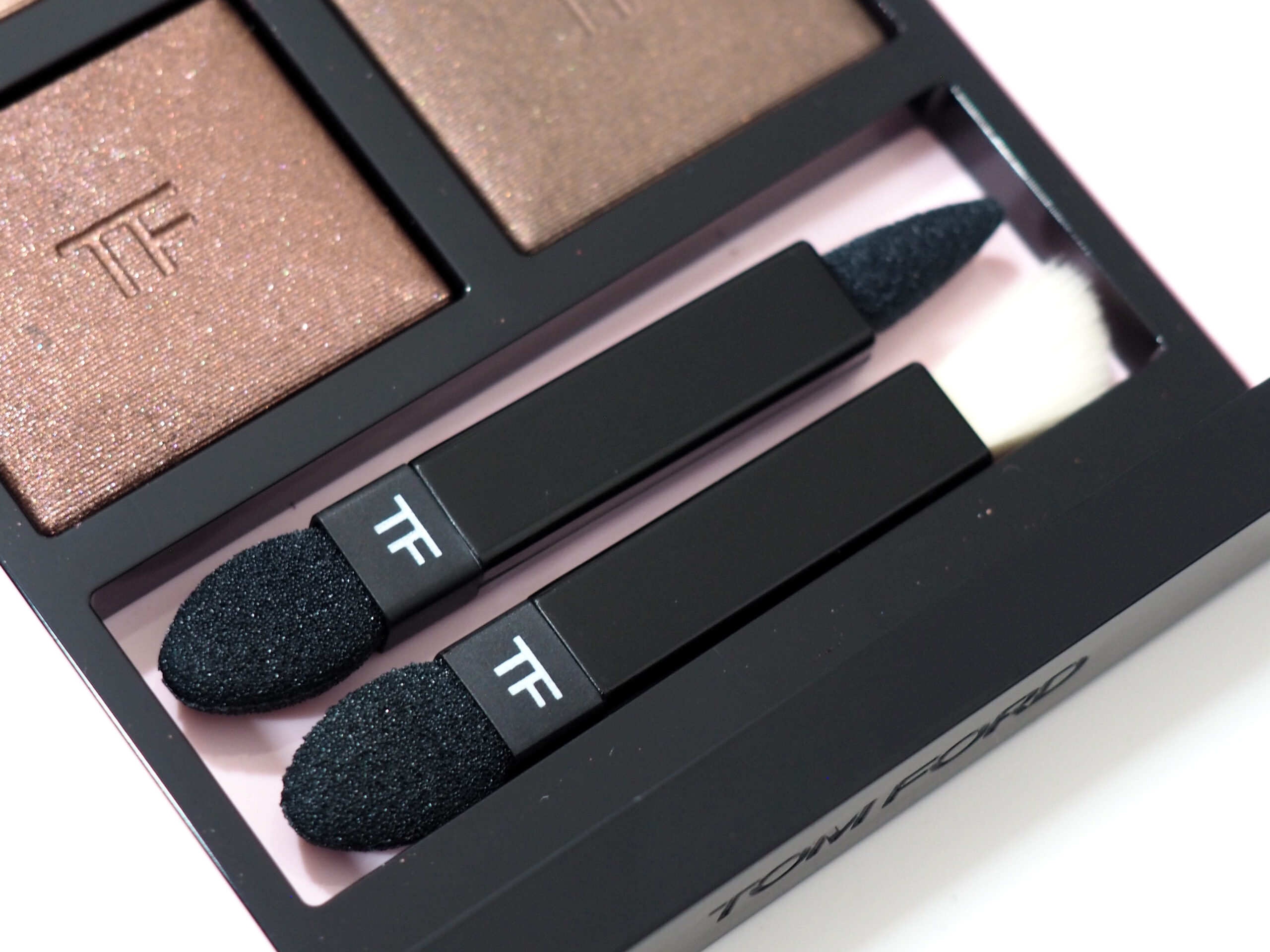 Tom Ford Rose Prick Body Heat Eye Color Quad Review / Swatches