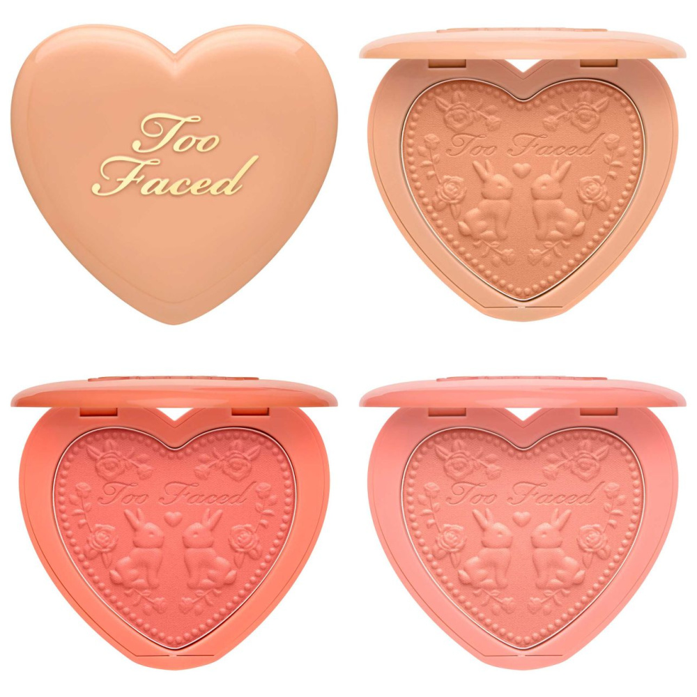 Too Faced Love Flush Water Color Blush Collection