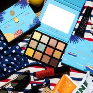Viseart Soleil La Plage Etendu Eyeshadow Palette