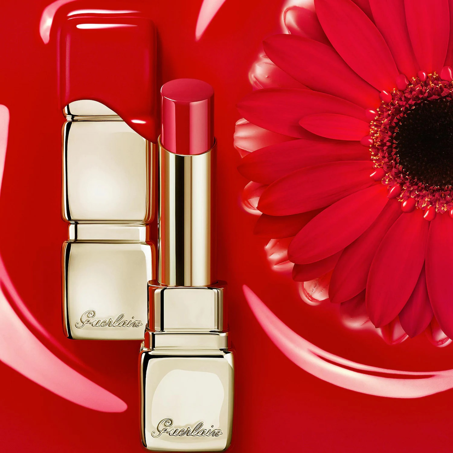 Guerlain KissKiss Shine Bloom Lipstick Balm Collection