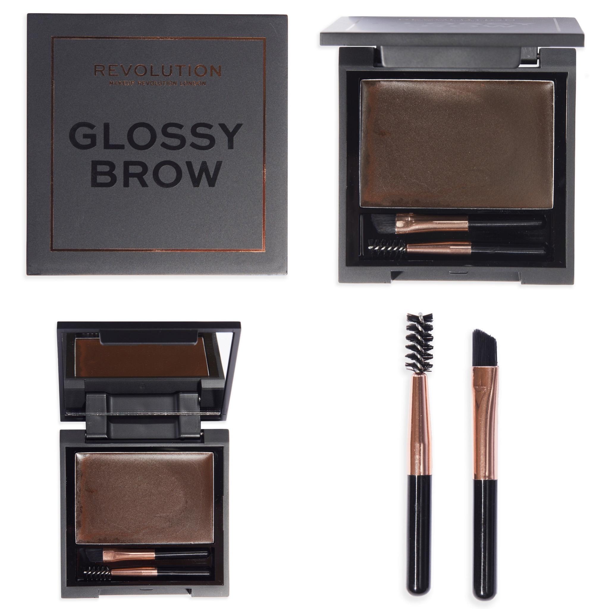 Revolution Glossy Brow Eyebrow Kit