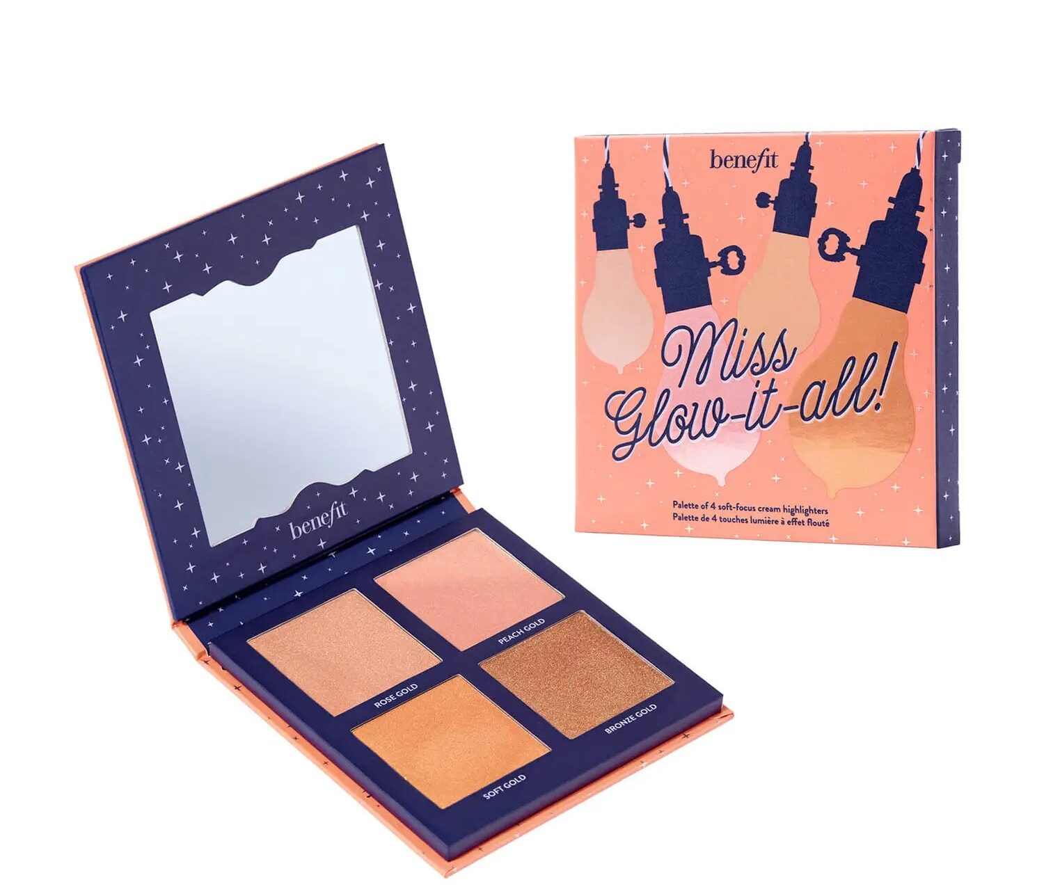 Benefit Cosmetics Miss Glow It All Highlighter Palette