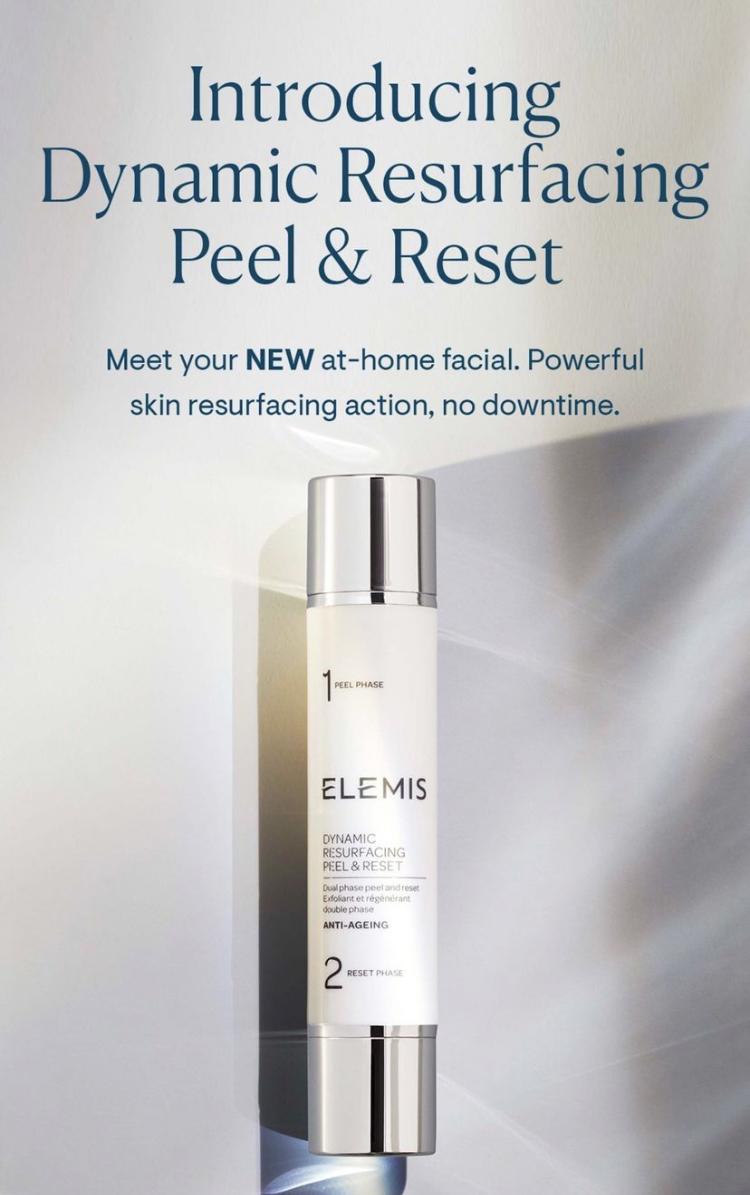 Elemis Dynamic Resurfacing Peel & Reset Dual-Phase Treatment