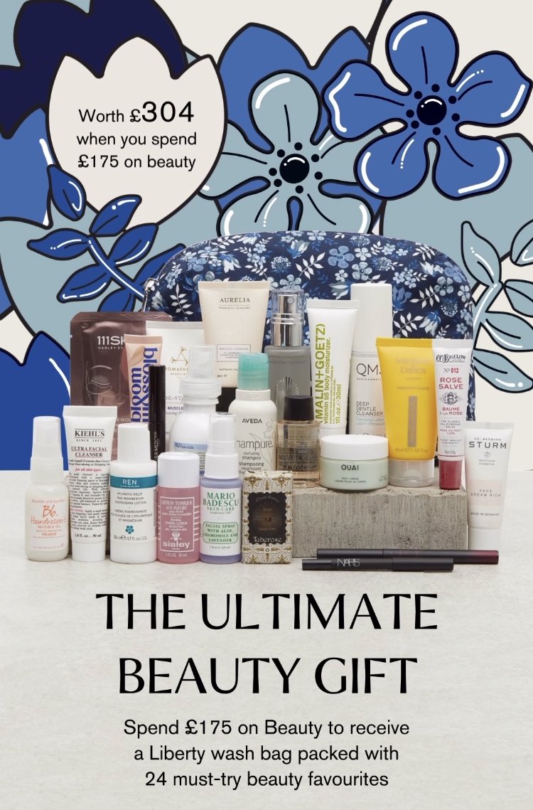 Liberty London The Ultimate Beauty Gift Reveal! Spring 2021 1
