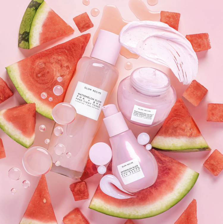 Glow Recipe Watermelon Glow Hyaluronic Clay Pore Tight Facial Face Mask