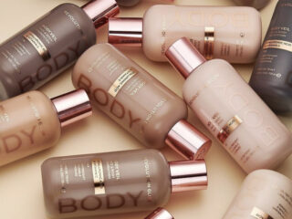 Revolution Glow Body Veil Face & Body Foundation