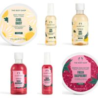 The Body Shop Fresh Raspberry + Cool Daisy Summer 2021 Collection