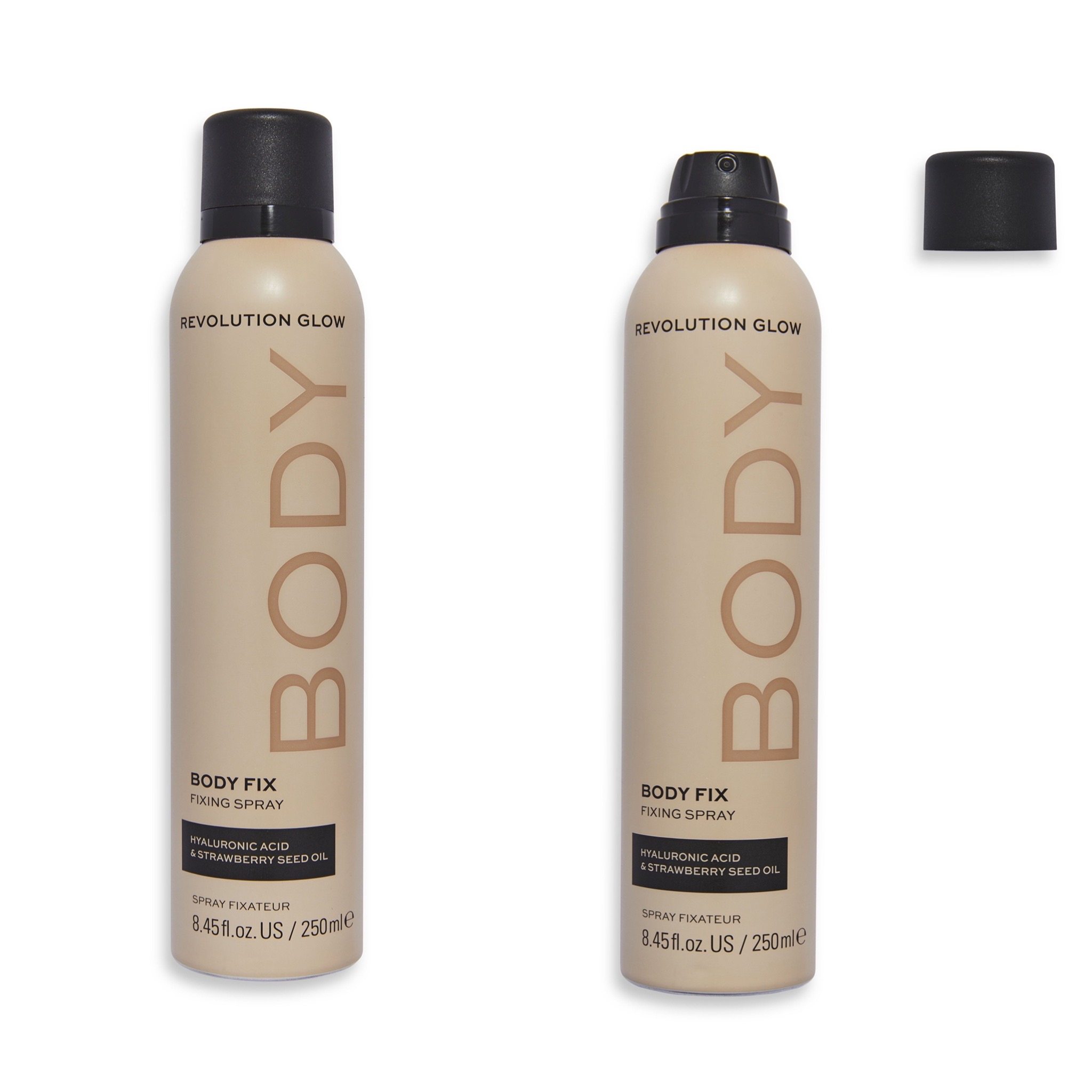Revolution Glow Body Fix Fixing Spray