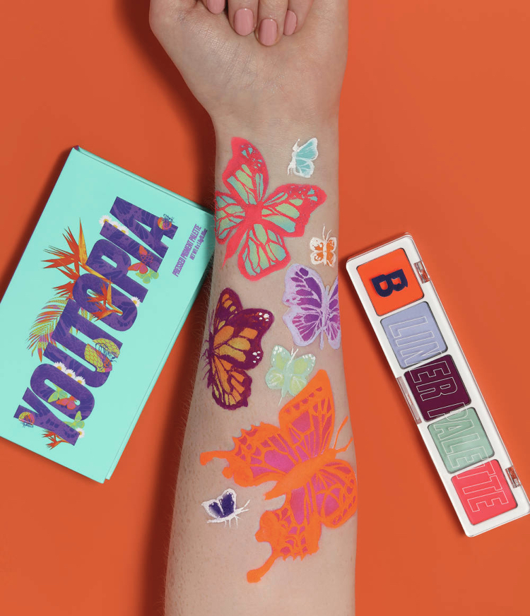 By Beauty Bay Youtopia Aquavated Liner Palette