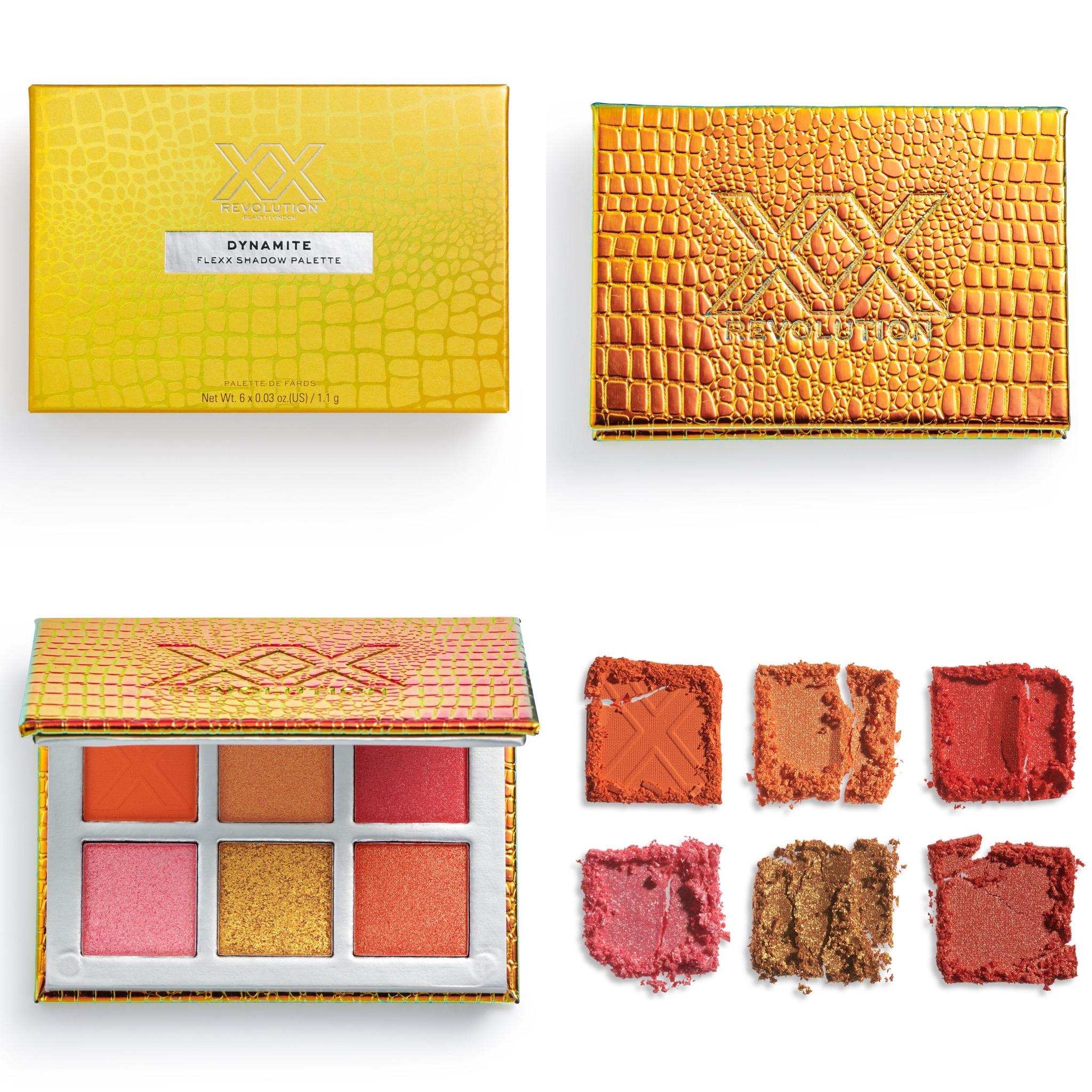 XX Revolution Flexx Eyeshadow Palette Collection