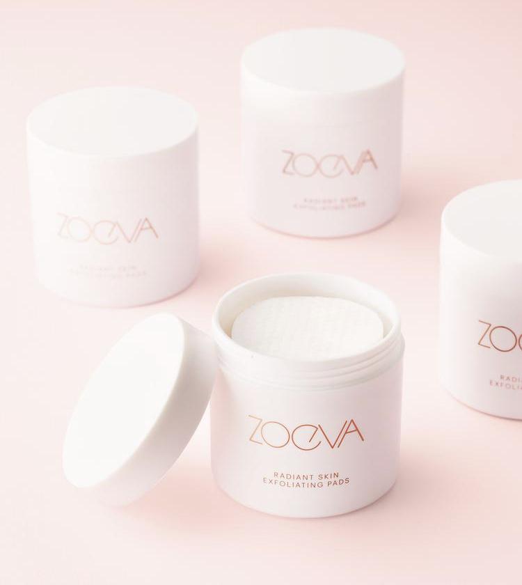 Zoeva Radiant Skin Exfoliating Pads