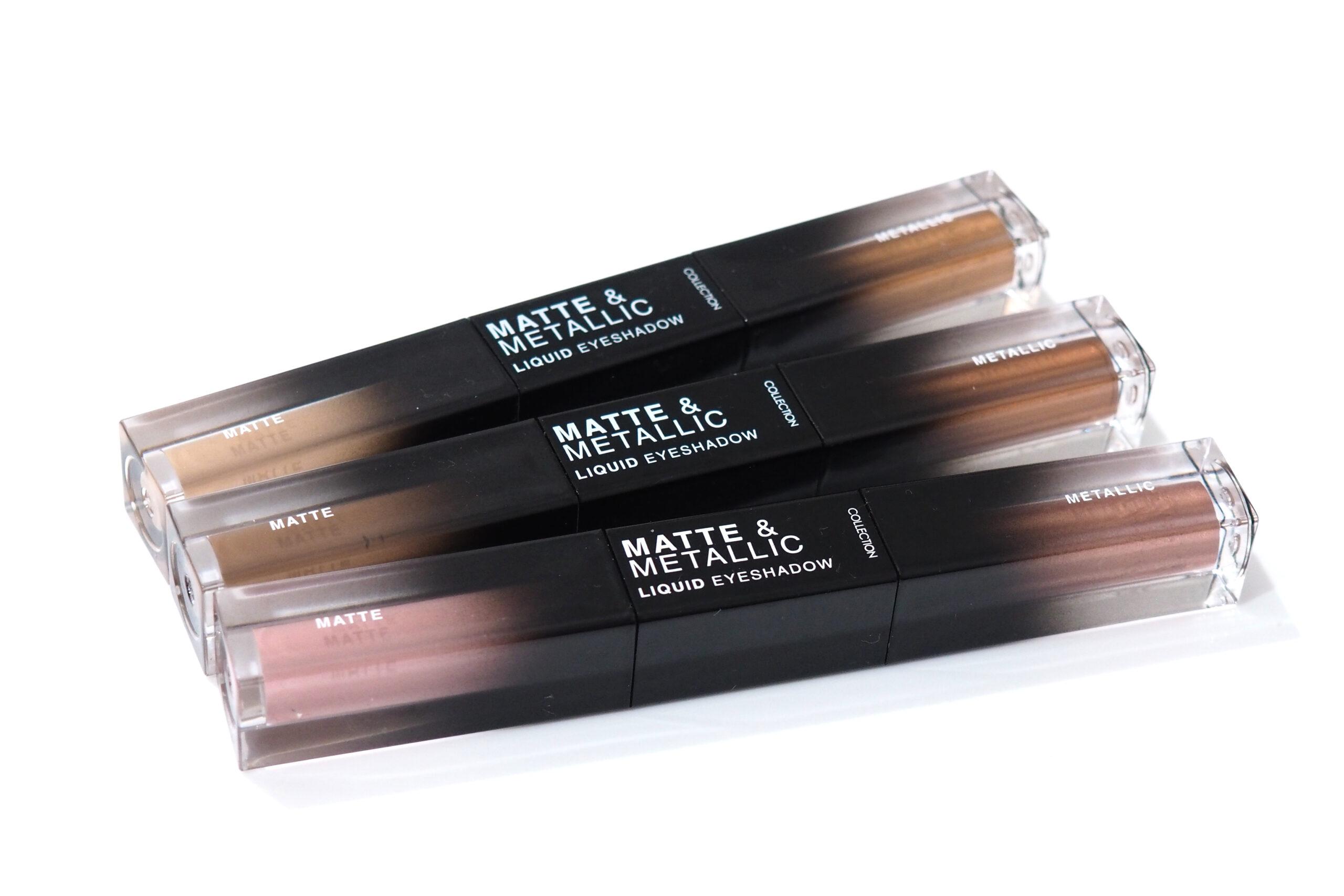Collection Matte & Metallic Liquid Eyeshadow Duos