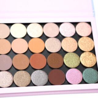 ColourPop Create Your Own Palette Review / Swatches