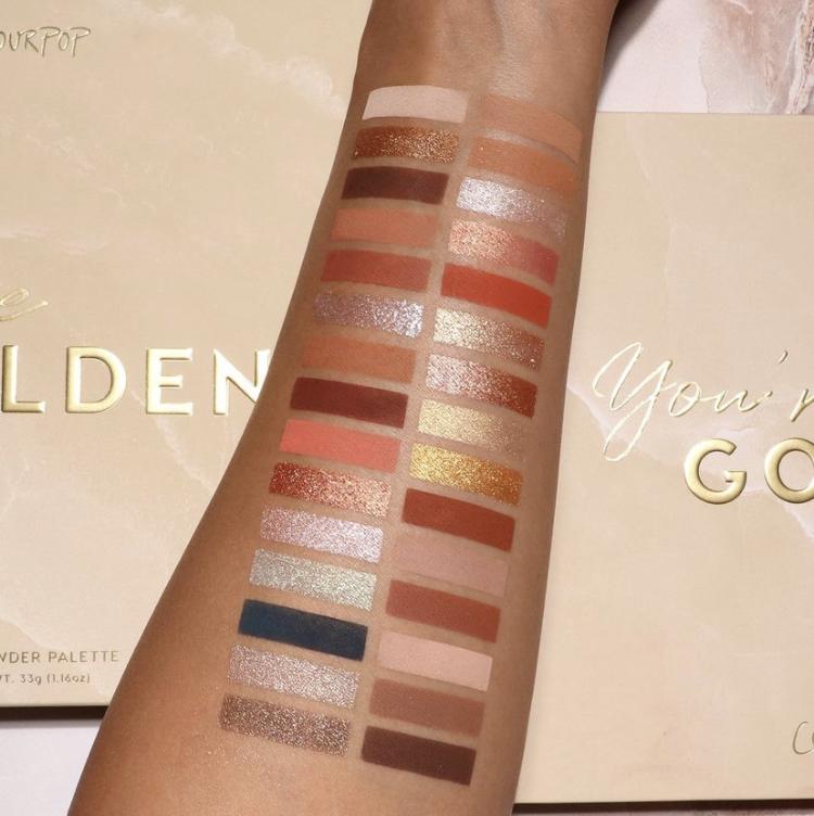 ColourPop You're Golden Mega Palette