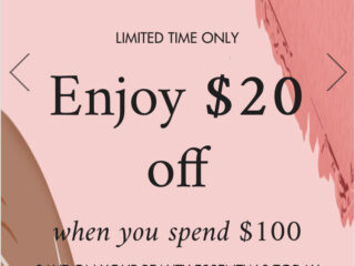 Space NK US Discount Event | May 2021