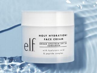 ELF Holy Hydration Face Cream Broad Spectrum SPF30