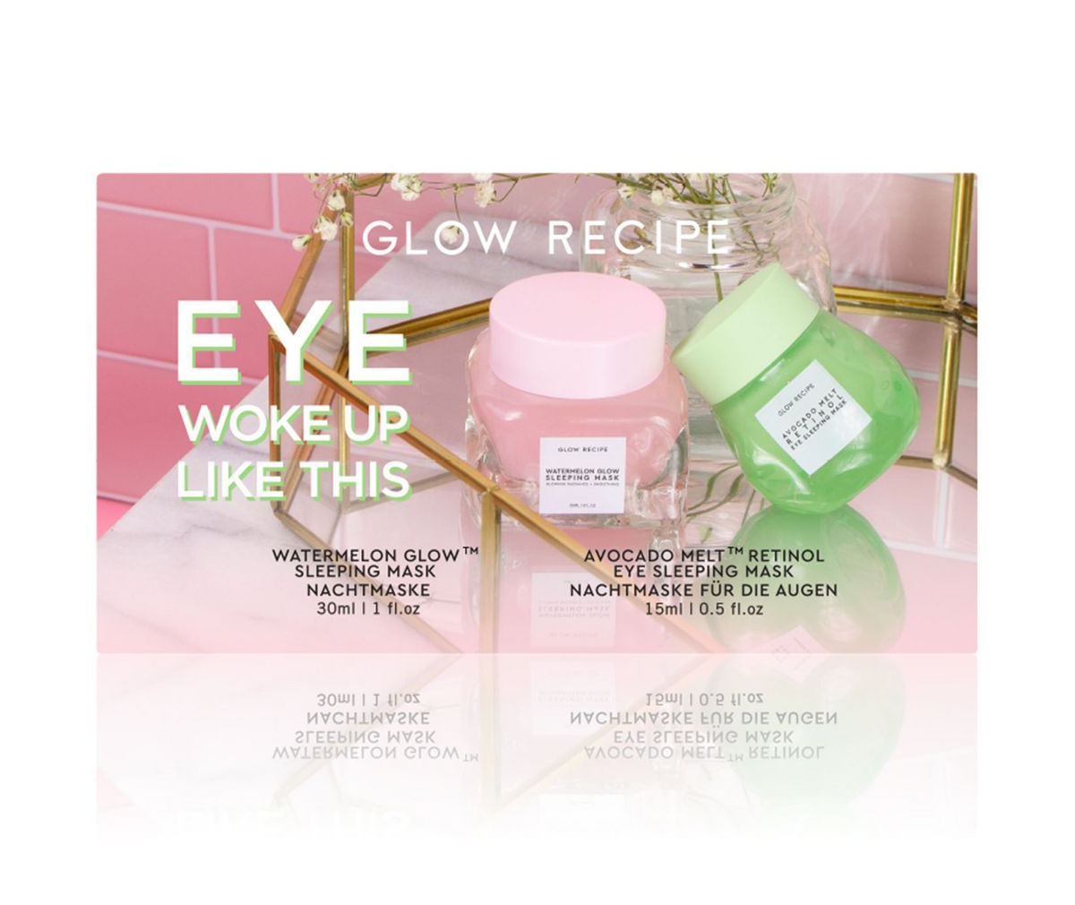 Glow Recipe Eye Woke Up Like This Set