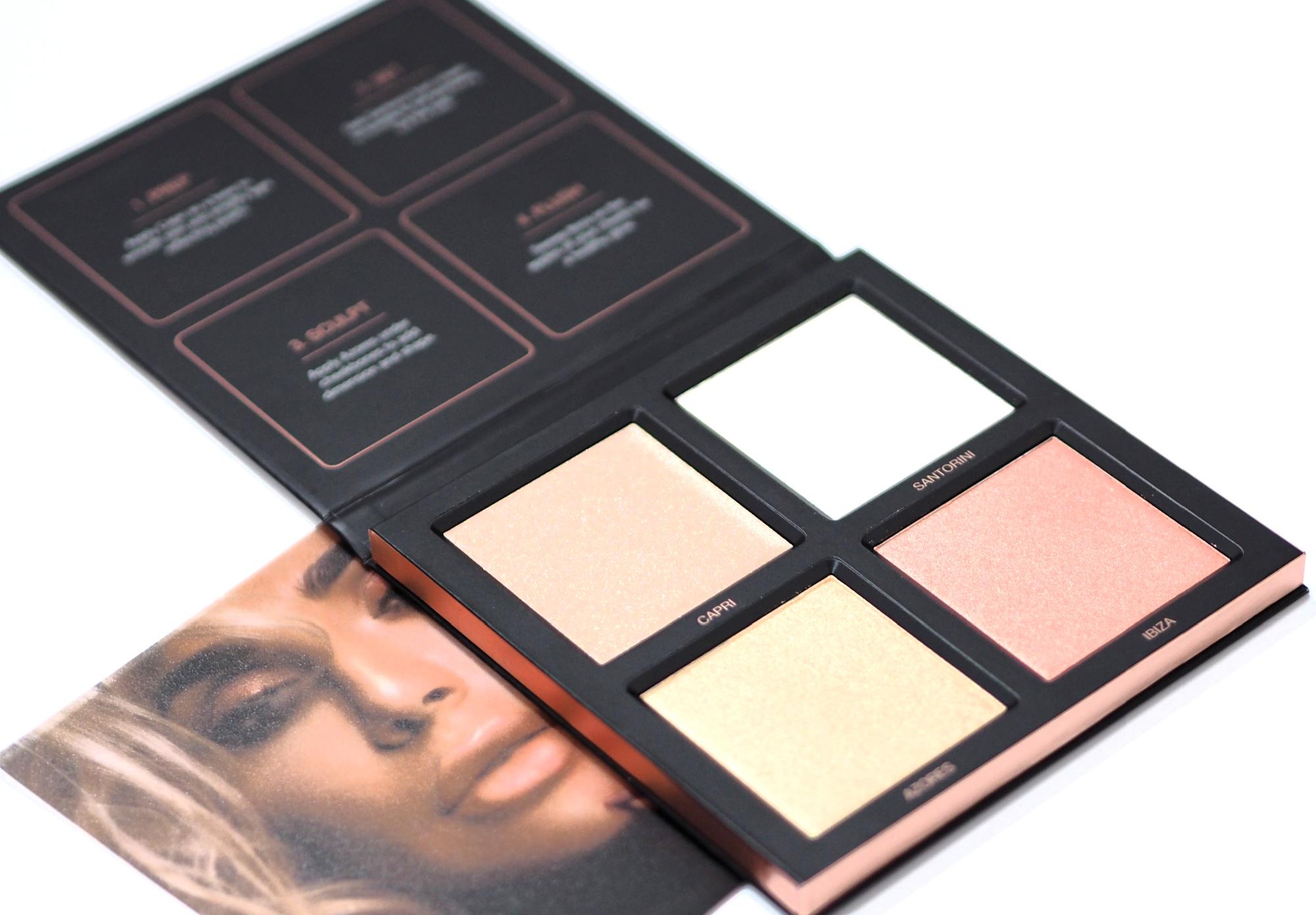 Huda Beauty Pink Sands 3D Highlighter Palette
