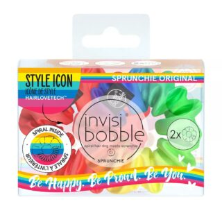 Invisibobble Sprunchie Be Happy Be Proud Be You Set