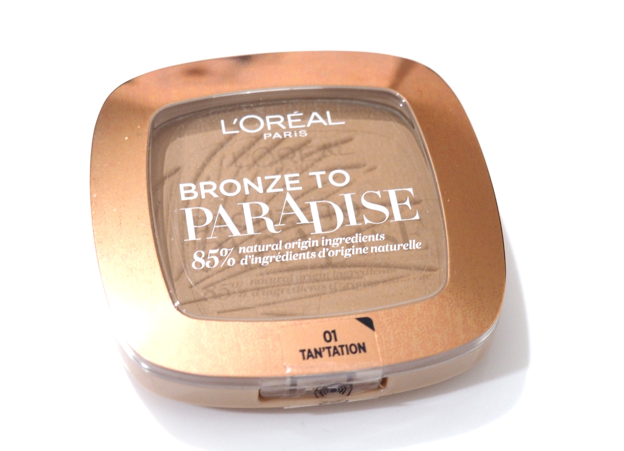 L'Oreal Bronze To Paradise Matte Sunkissed Bronzer