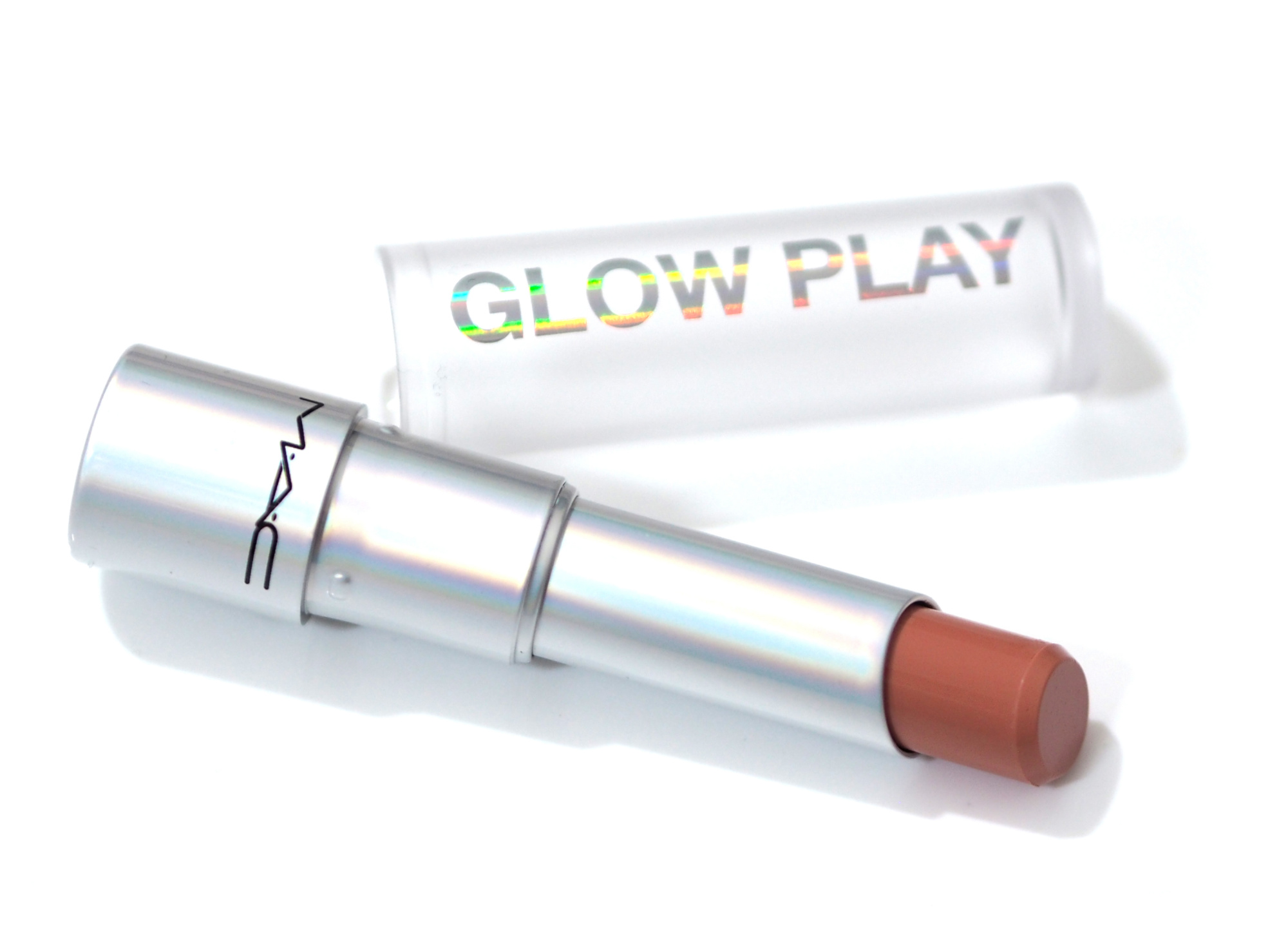 MAC Glow Play Lip Balm Review Swatches