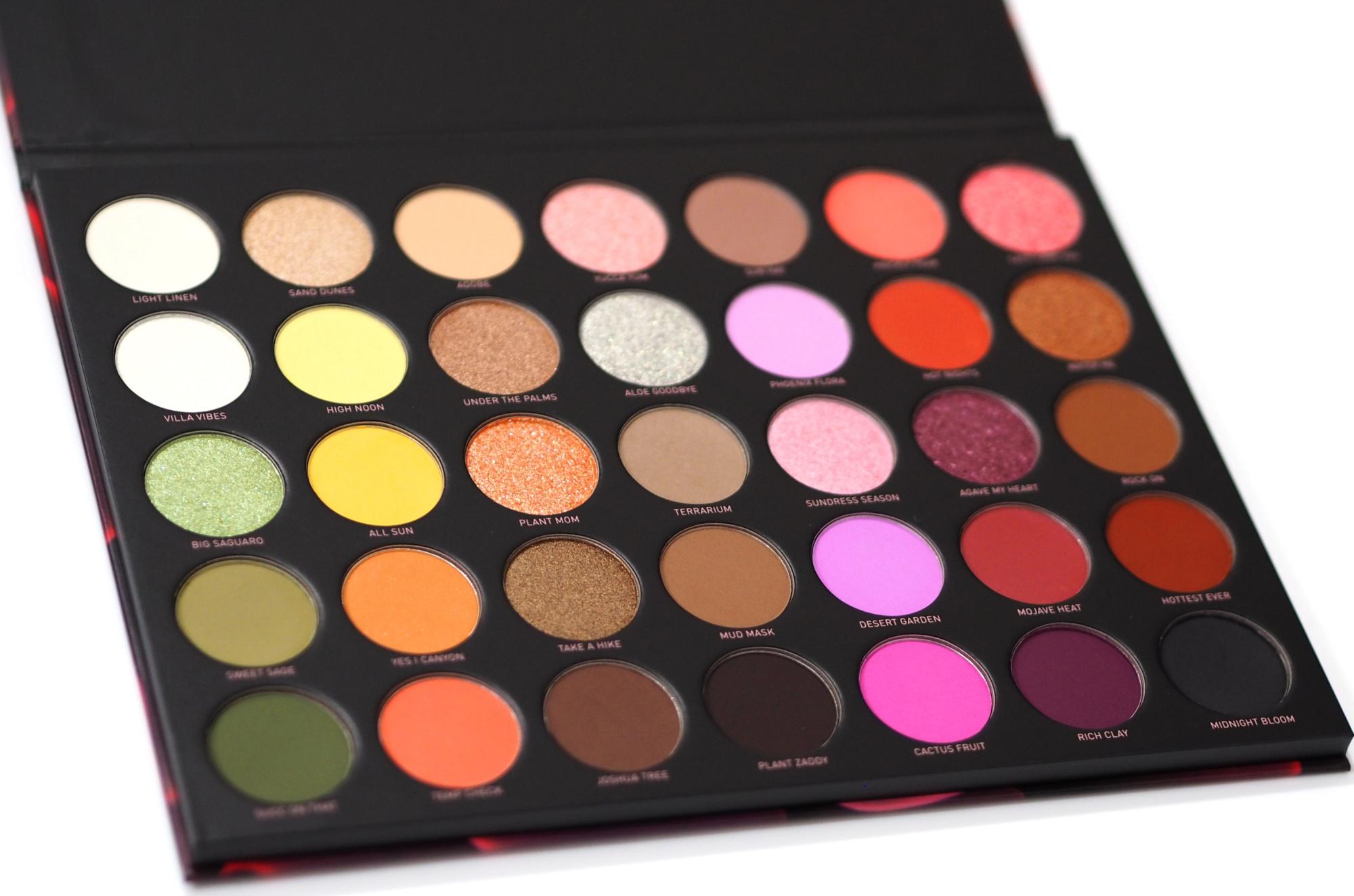 Morphe 35D Desert Bouquet Eyeshadow Palette