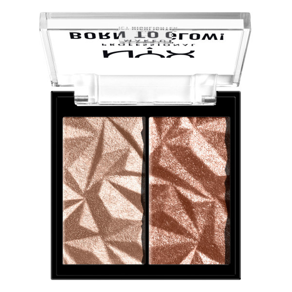 NYX Born To Glow Icy Highlighter Duos