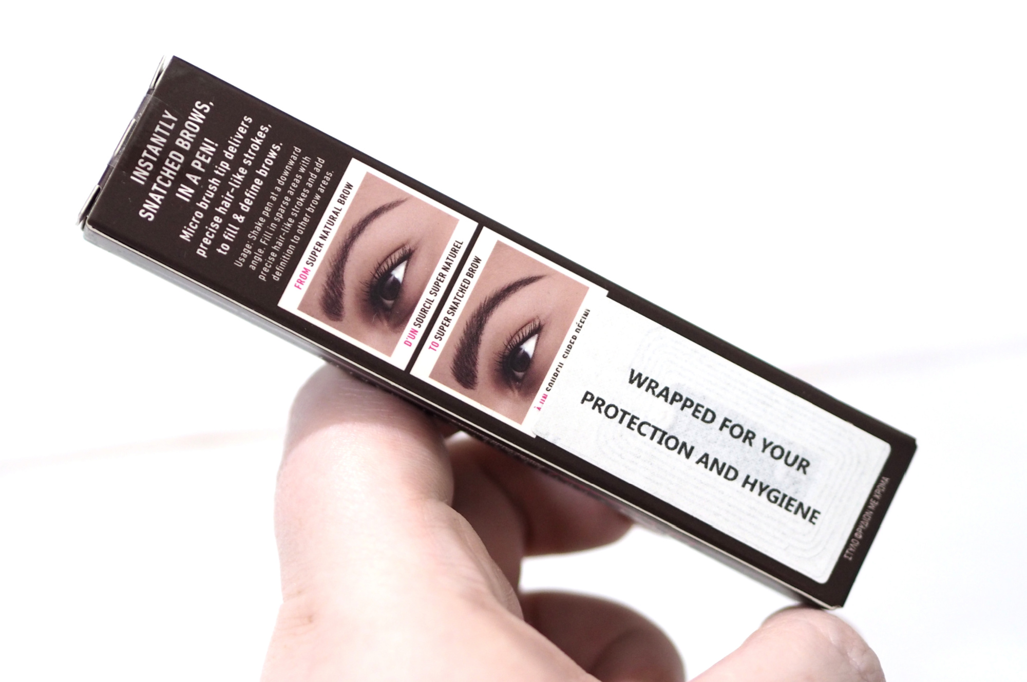 NYX Lift & Snatch Brow Tint Pen Review Swatches