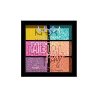 NYX Metal Play Pigment Palette