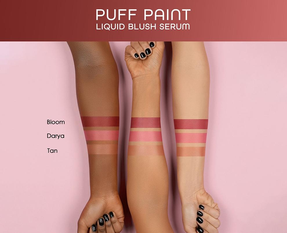 Natasha Denona Puff Paint Liquid Blush Serum Collection