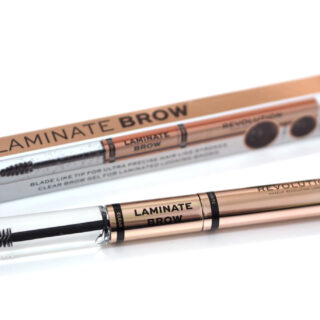 Revolution Laminate Brow Duo Review Swatches