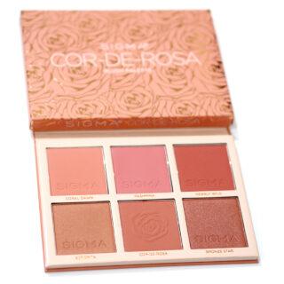 Sigma Beauty Cor de Rosa Blush Palette Review / Swatches