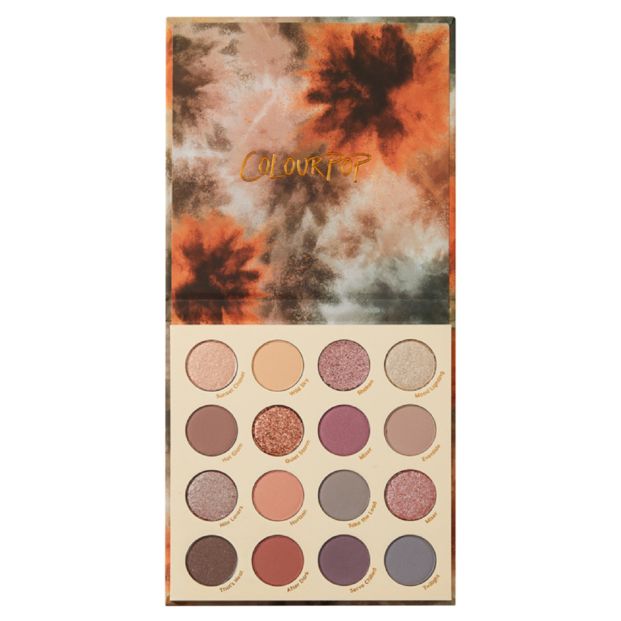 ColourPop Lust For Dusk Shadow Palette