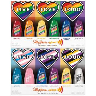 Sally Hansen x GLAAD Pride Collection 2021