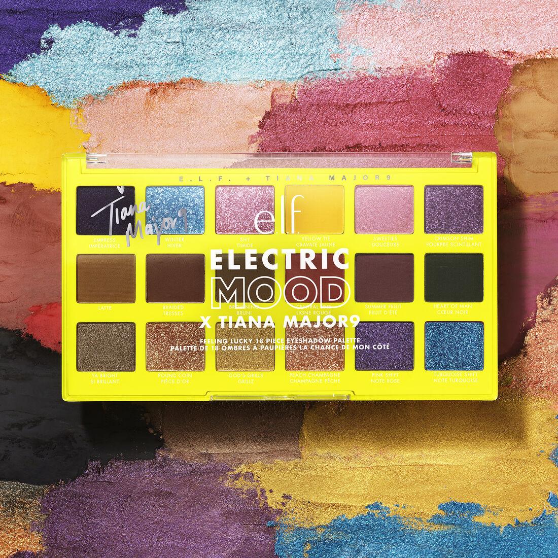 ELF Electric Mood x Tiana Feeling Lucky Eyeshadow Palette