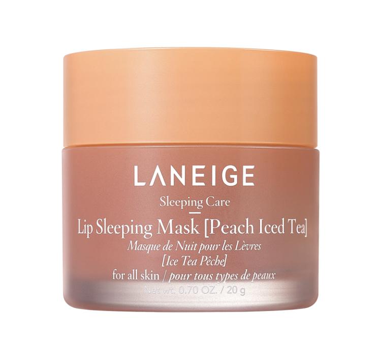 Laneige Peach Iced Tea Lip Sleeping Mask