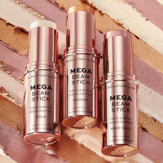 Revolution Glow Mega Beam Stick Face & Body Highlighter
