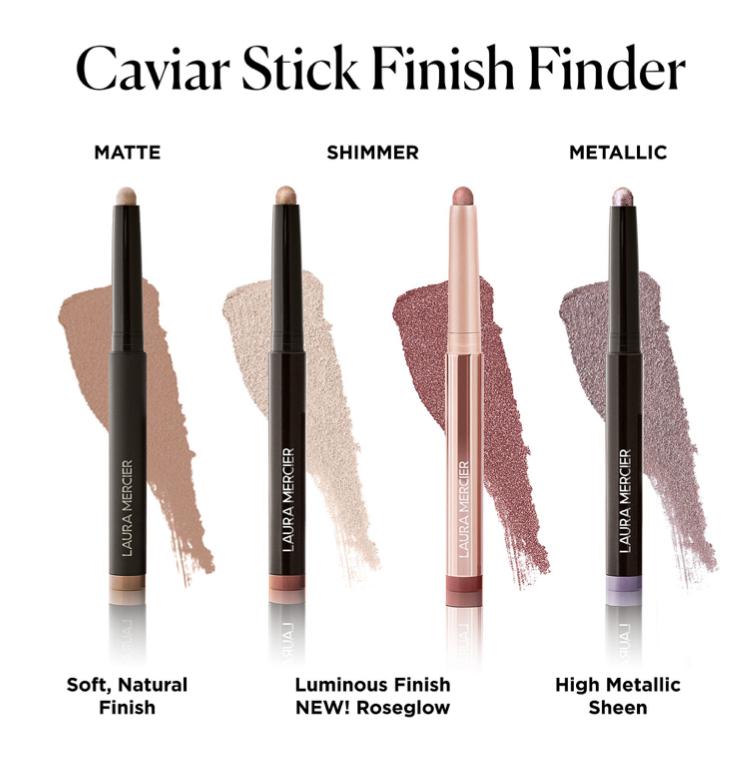 Laura Mercier RoseGlow Caviar Stick Eyeshadow Collection