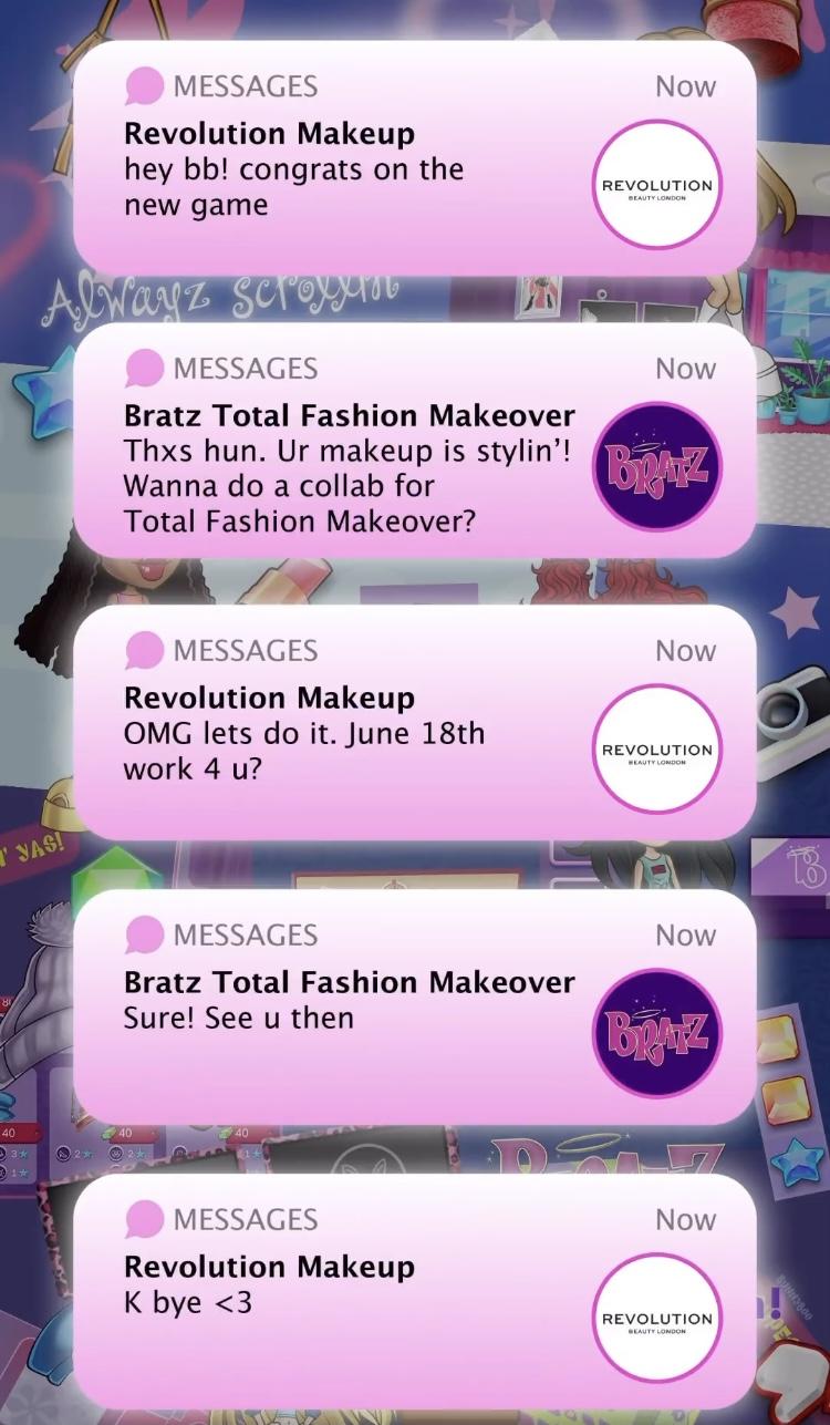 Revolution x Bratz Collaboration