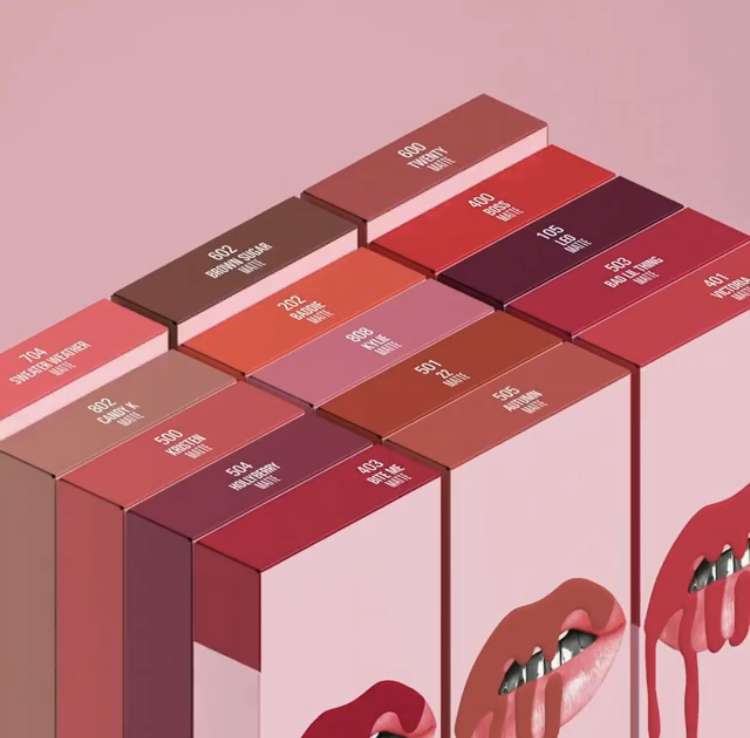 Kylie Cosmetics Matte Liquid Lipstick & Lip Liner Kits