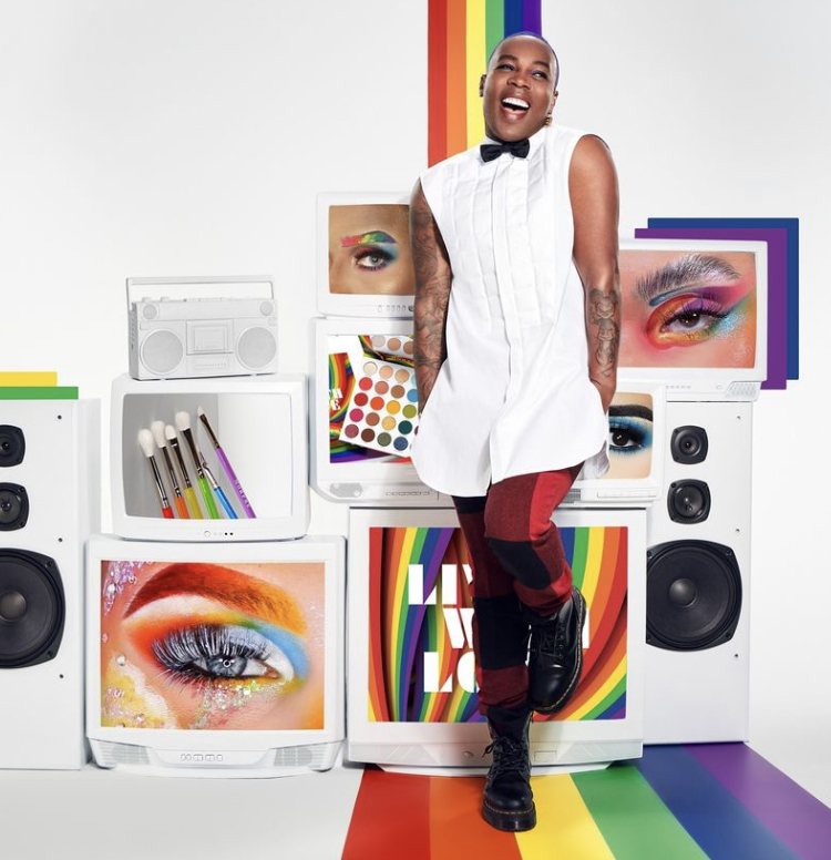 Morphe x Todrick Live With Love Pride Collection