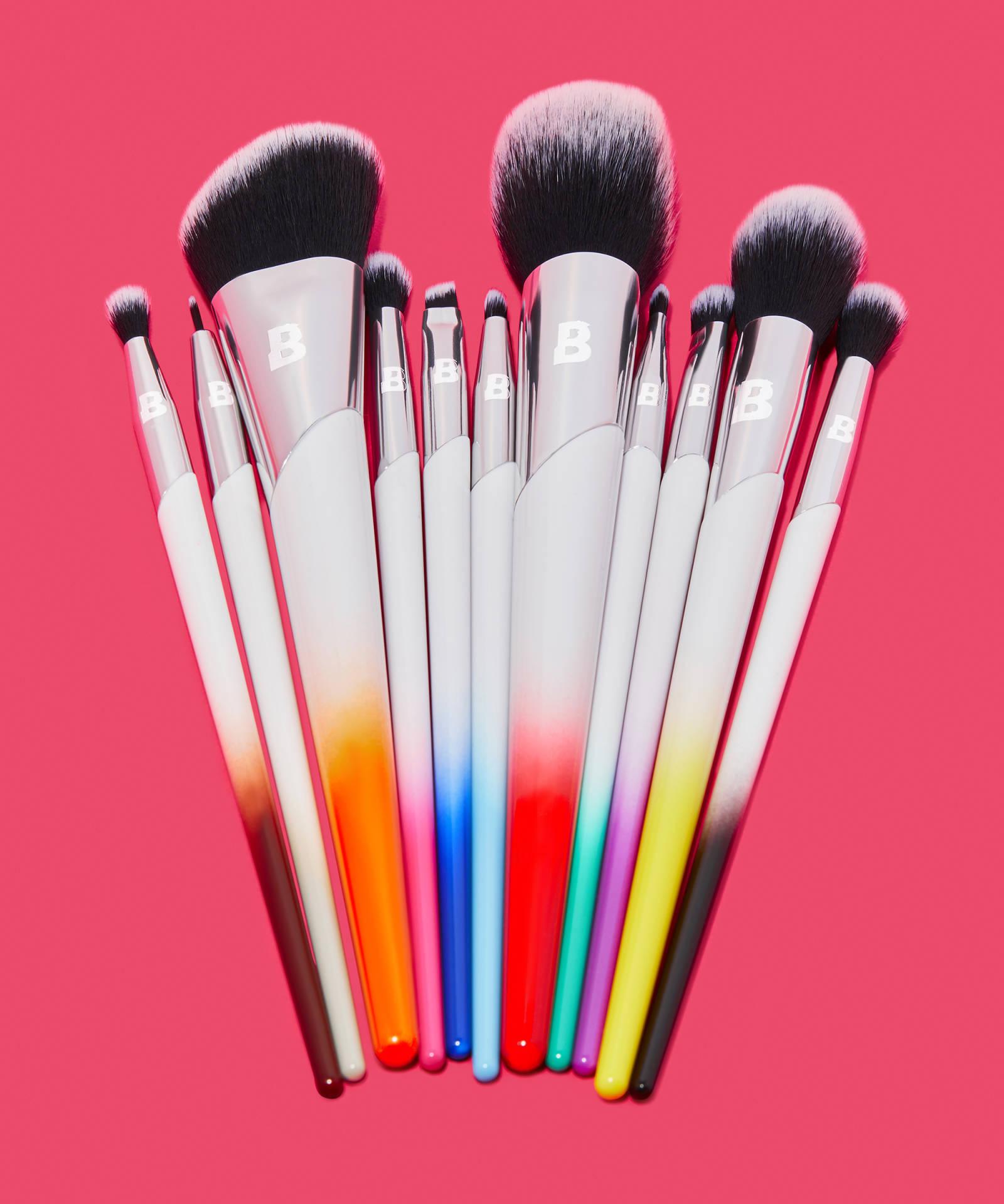 By Beauty Bay Pride 11 Piece Brush Set