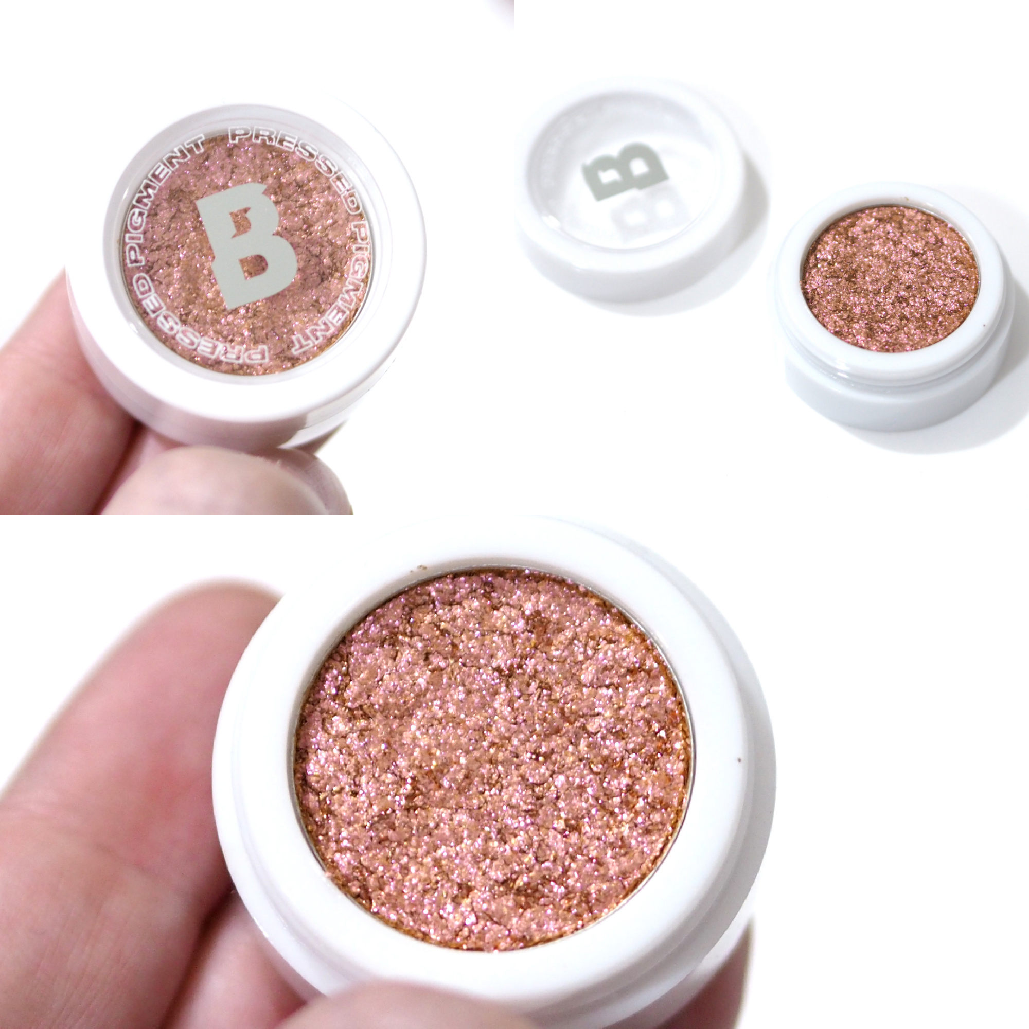 By Beauty Bay Youtopia Pressed Pigment Collection Review / Swatches